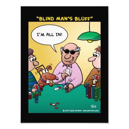 """Blind Man's Bluff"" Photo Art"