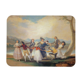 Blind Man's Buff, 1788-9 (tapestry cartoon) (for s Magnet