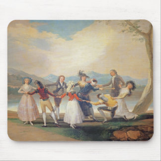 Blind Man's Buff, 1788-9 (tapestry cartoon) (for s Mouse Pad