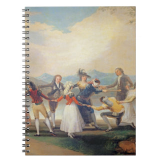 Blind Man's Buff, 1788-9 (tapestry cartoon) (for s Notebook