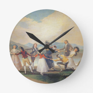 Blind Man's Buff, 1788-9 (tapestry cartoon) (for s Round Clock