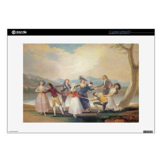 Blind Man's Buff, 1788-9 (tapestry cartoon) (for s Skins For Laptops