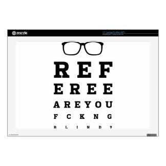 "Blind Referee Skin For 17"" Laptop"