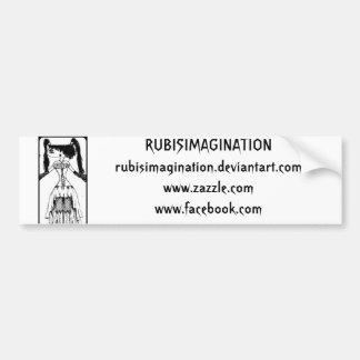 Blind Rim (inspired by Repo Man) Car Bumper Sticker