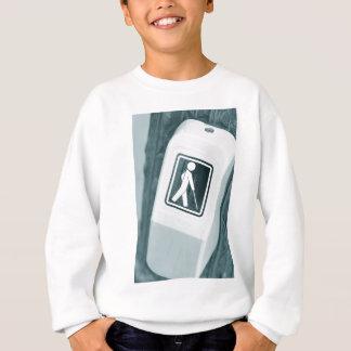 Blind sign design sweatshirt