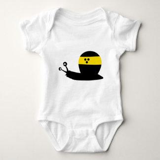 blind snail icon baby bodysuit