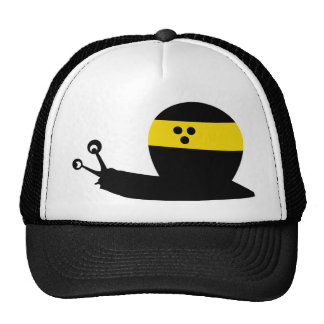 blind snail icon mesh hats