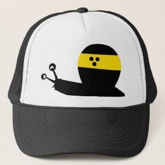 blind snail icon trucker hat