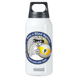 Blind Squirrel 9-Ball Insulated Water Bottle