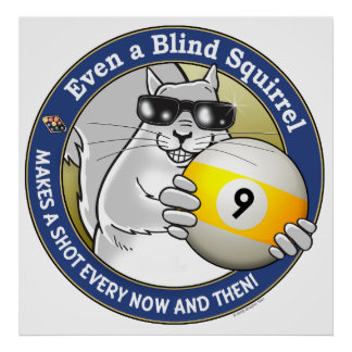 Blind Squirrel 9-Ball Posters