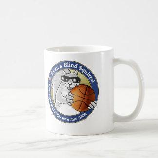 Blind Squirrel Basketball Coffee Mug