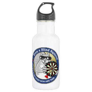 Blind Squirrel Darts 18oz Water Bottle