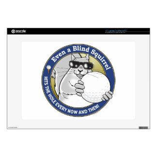 Blind Squirrel Golf Laptop Decals