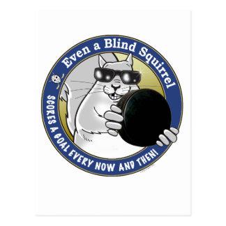Blind Squirrel Hockey Postcard