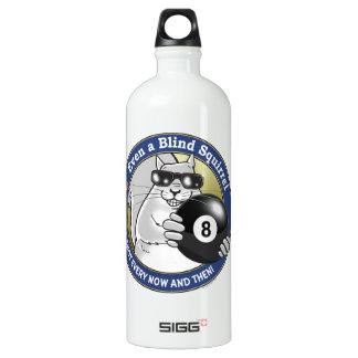 Blind Squirrel Pool Aluminum Water Bottle