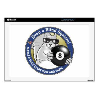 "Blind Squirrel Pool 17"" Laptop Decals"
