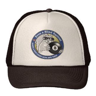 Blind Squirrel Pool Trucker Hat