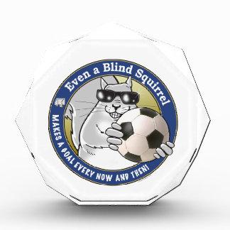 Blind Squirrel Soccer Award