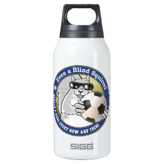 Blind Squirrel Soccer Thermos Bottle