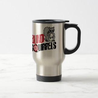 Blind Squirrels 15 Oz Stainless Steel Travel Mug