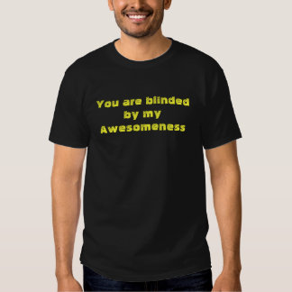 Blinded by Awesomeness Tees