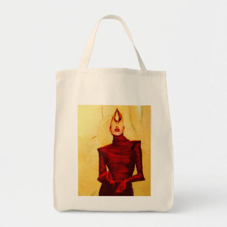 Blinded Grocery Tote Bag