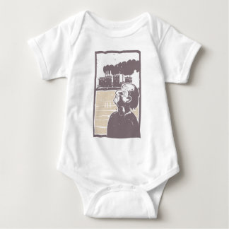 Blinded Man and Factory Baby Bodysuit