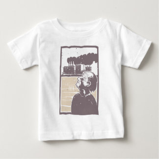 Blinded Man and Factory Baby T-Shirt