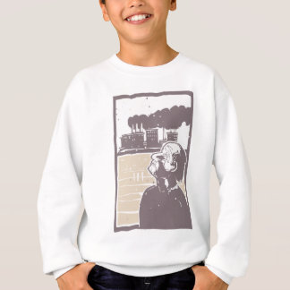 Blinded Man and Factory Sweatshirt