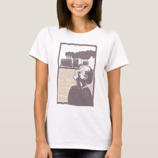 Blinded Man and Factory T-Shirt