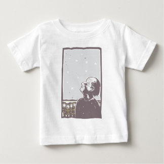 Blinded Man and Sunflowers Baby T-Shirt