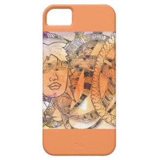 Blindfold del símbolo de Tarot iPhone 5 Carcasas