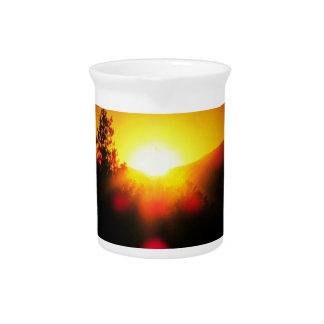 Blinding dawn orange juice sunrise beverage pitchers