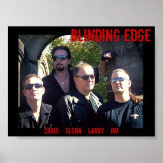 BLINDING EDGE Print
