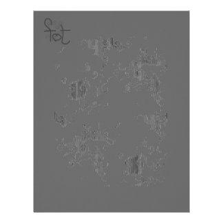 Blinding white stationary letterhead
