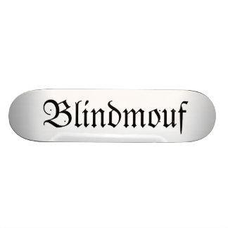 Blindmouf goth skateboard