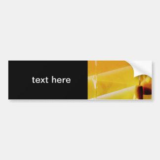 Blinds Car Bumper Sticker