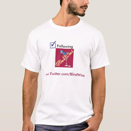 BlindWine Twitter Shirt