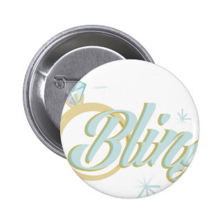 Bling 2 Inch Round Button
