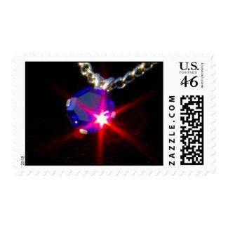 Bling 5 postage stamp