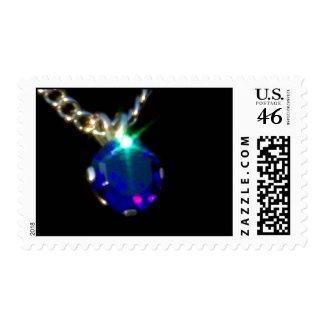 Bling 6 postage stamp
