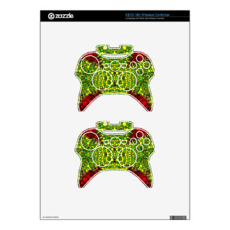 Bling Abstract Pattern Custom Gifts Xbox 360 Controller Skins