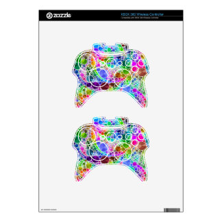 Bling Abstract Pattern Xbox 360 Controller Skin