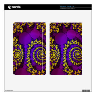 Bling Abstract Pattern Skins For Kindle Fire