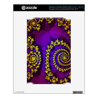 Bling Abstract Pattern Decal For The NOOK