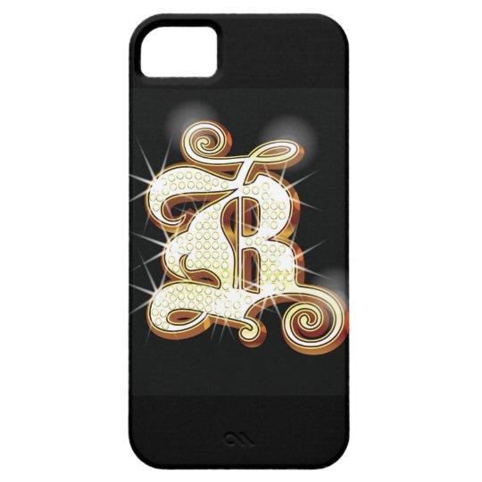 Bling alphabet B iPhone SE/5/5s Case