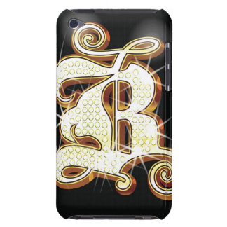 Bling alphabet B iPod Touch Case-Mate Case
