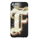 Bling alphabet F Barely There iPhone 6 Case