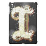 Bling alphabet I iPad Mini Cases