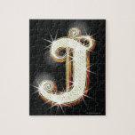 Bling alphabet J Puzzle